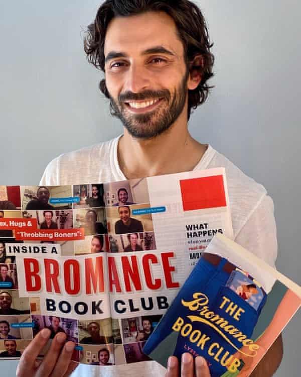 Jason Rogers, founder of the Bromantics book club