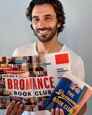 Jason Rogers, founder of the Bromantics book club