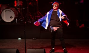 'Delusions of grandeur can be very, very dangerous indeed …' Lewis Capaldi on stage at Thalia Hall