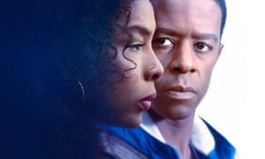 Maya (Sophie Okonedo) and Nick Johnson (Adrian Lester)