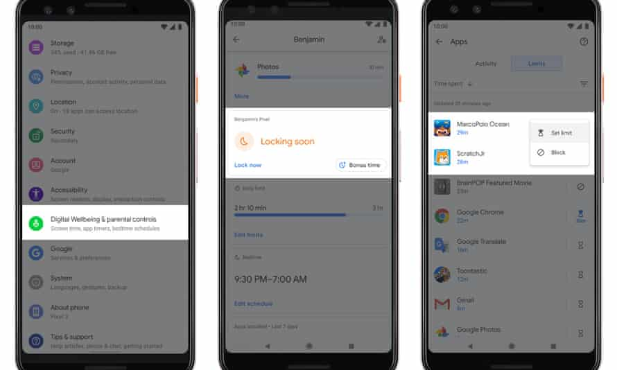 Parental controls are getting upgraded with Android Q to make them more powerful and easier to manage.