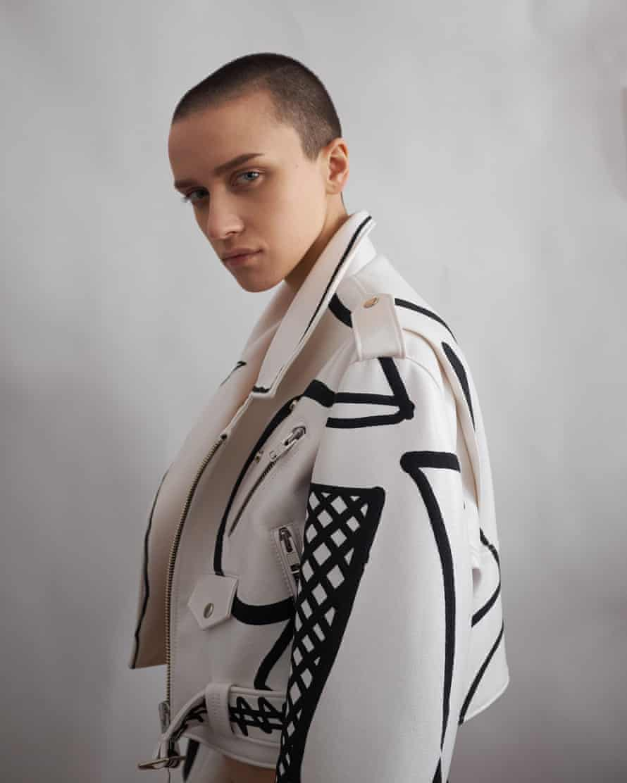 A look by Masha Reva, one of the new wave of designers from the 'new east'.