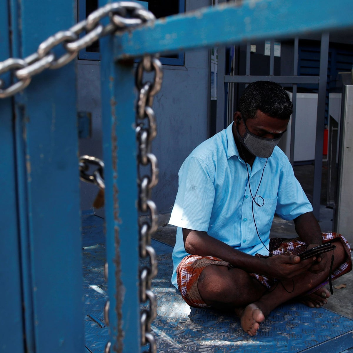 We Re In A Prison Singapore S Migrant Workers Suffer As Covid 19