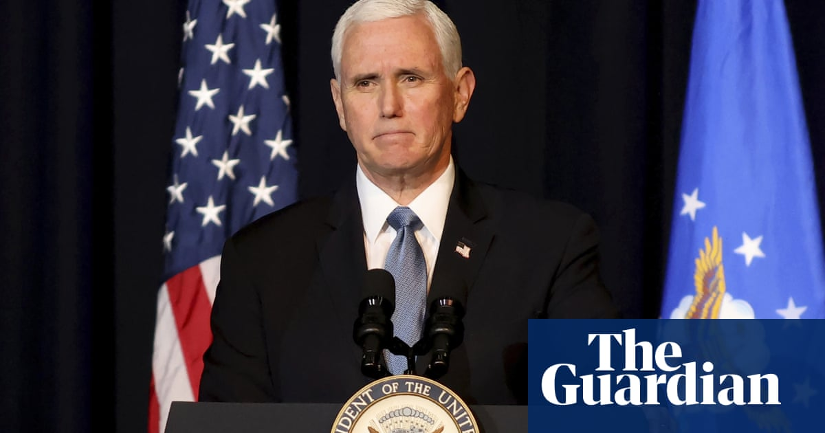 Mike Pence's publisher refuses to cancel memoir after staff protest
