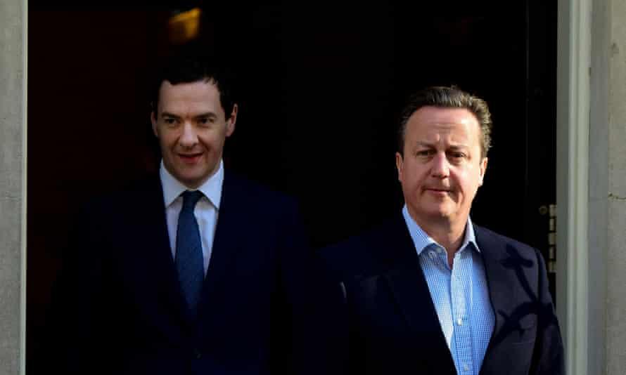 David Cameron and George Osborne.
