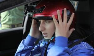 Marah Zahalka in Speed Sisters.