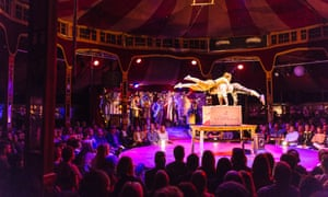 Circus and burlesque dominate at this year's Adelaide Fringe