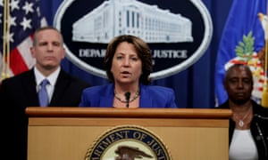 Deputy attorney general Lisa Monaco said: 'Ransomware attacks are always unacceptable, but when they target critical infrastructure, we will spare no effort in our response.'
