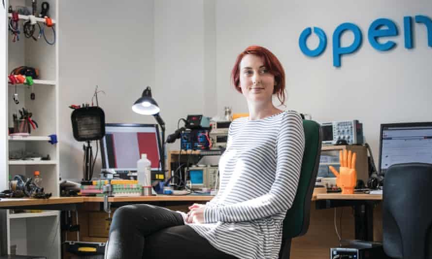 Samantha Payne of Open Bionics