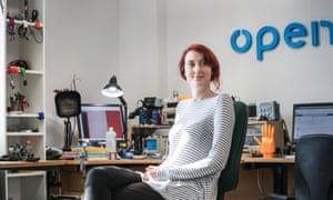 Samantha Payne, co-founder of Open Bionics