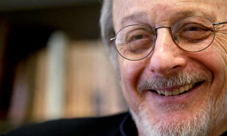 EL Doctorow at New York University in 2004.