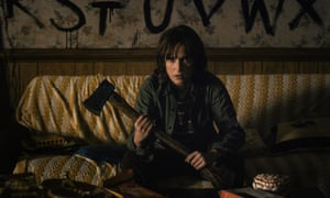 Winona Ryder plays Joyce, mother of a missing boy in Netflix drama Stranger Things.