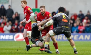 John Barclay made a series of key carries against La Rochelle.