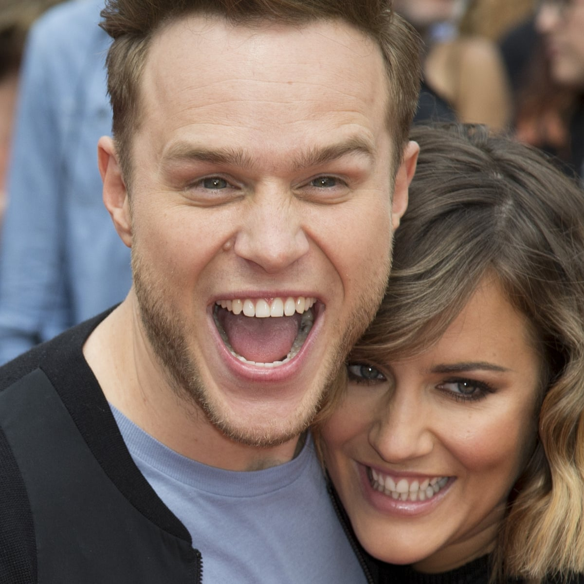 X Factor Olly Murs And Caroline Flack Quit Show Media The Guardian