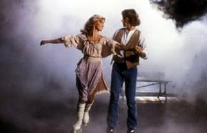 Olivia Newton-John and Michael Beck in Xanadu