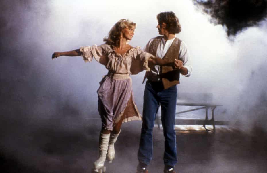 Olivia Newton-John and Michael Beck in Xanadu (1980)