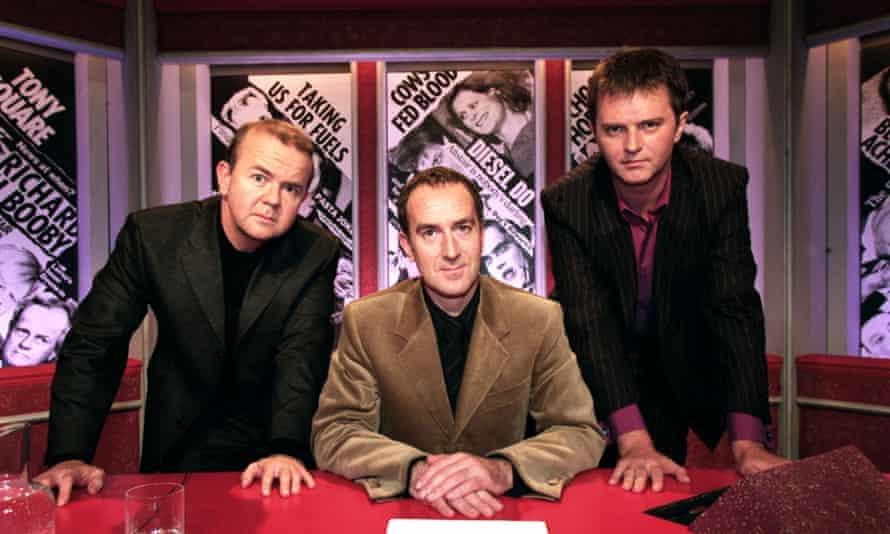 Ian Hislop, Angus Deayton and Paul Merton