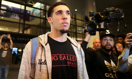 LiAngelo Ball was one of the players who had been accused of shoplifting in China