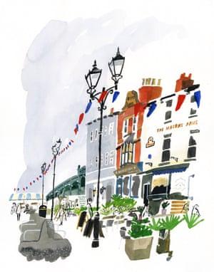 Doncaster high street.