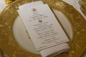 The pageantry of Macron's official state visit, the first of the Trump presidency, will be shown on Tuesday night with a lavish state dinner at the White House.