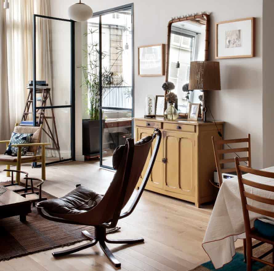 Camille Hernand's maisonette in the Marais district of Paris