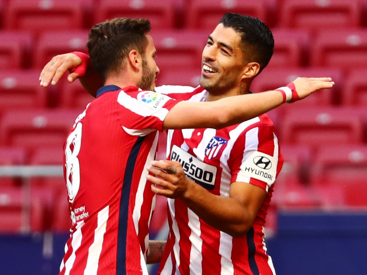 Luis Suárez comes off bench to score Atlético debut double in rout of Granada | Football | The Guardian