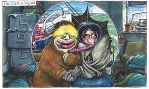 Martin Rowson cartoon Sat 31 July 2021