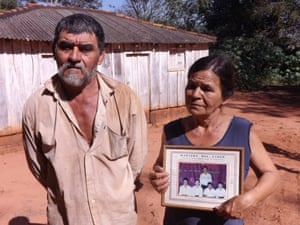 Delfin and Emiliana Sosa: Delfin and Emiliana Sosa's son, Rudy, joined the Armed Campesino Group (ACA) and was killed in an army ambush in April.