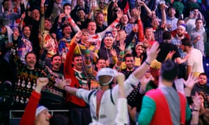 Fans at the Ally Pally will deliver a colourful end to the year at the PDC world darts championship.