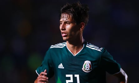 Jürgen Damm in action for Mexico in 2018