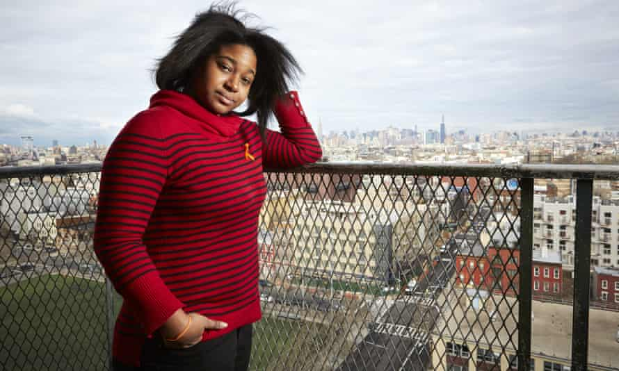Erica Garner, photographed in New York for the Observer in 2015.