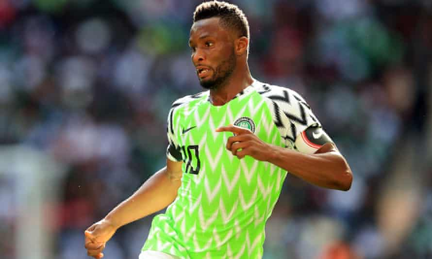 Mikel John Obi captained Nigeria at last summer's World Cup.