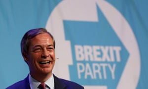 Limited polling suggests Nigel Farage's Brexit party could do well in the European elections.