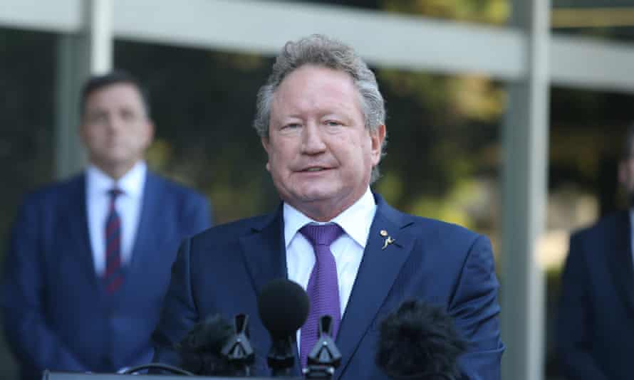 Australian businessman Andrew Forrest
