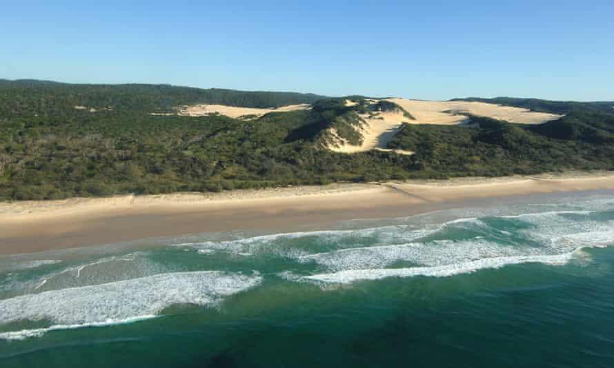 Coastal dunes on Fraser Island