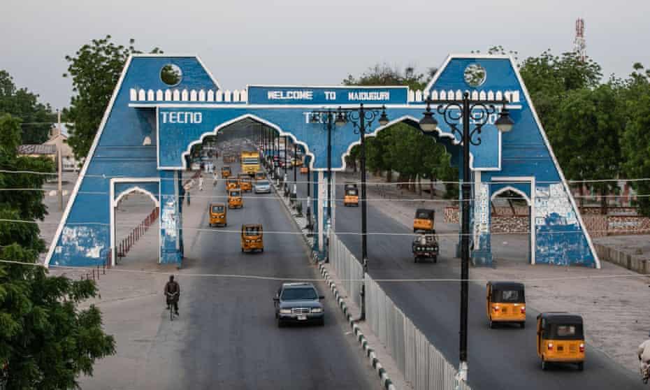 Maiduguri in northern Nigeria.