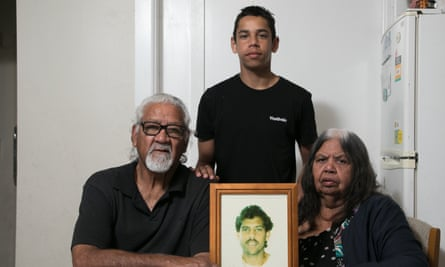 Ted and Helen, with Eddie (in photograph) and their grandson, Victor Fernando.