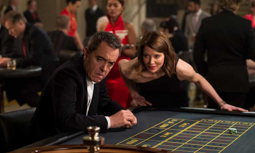 James Nesbitt as DI Harry Clayton and Sienna Guillory as Eve in Stan Lee's Lucky Man.