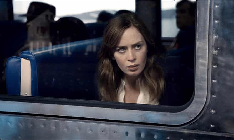 No mousy wreck … Emily Blunt in The Girl on the Train.
