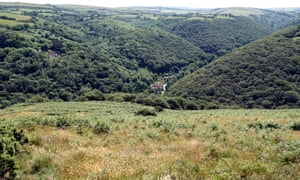 Heddon Valley, where the National Trust has a partnership with Butterfly Conservation to preserve the rare high brown fritillary butterfly.