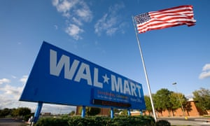 Walmart started using solar panels made by SolarCity, owned by Tesla, in 2010.