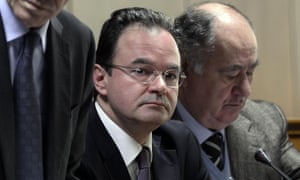 Former finance minister George Papaconstantinou.