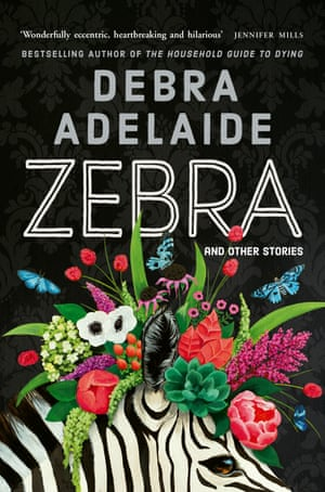 Cover image for Zebra by Debra Adelaide