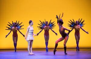 Tamara Rojo as Frida Khalo in Broken Wings from She Said by English National Ballet.