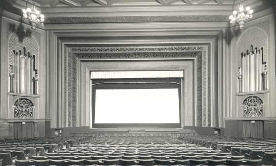 The Granada cinema screen and stalls in Walthamstow