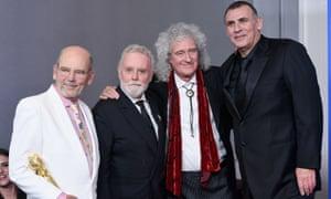 Absent friends … Bohemian Rhapsody producers