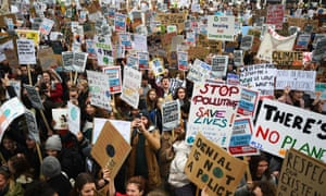 London school climate strikes
