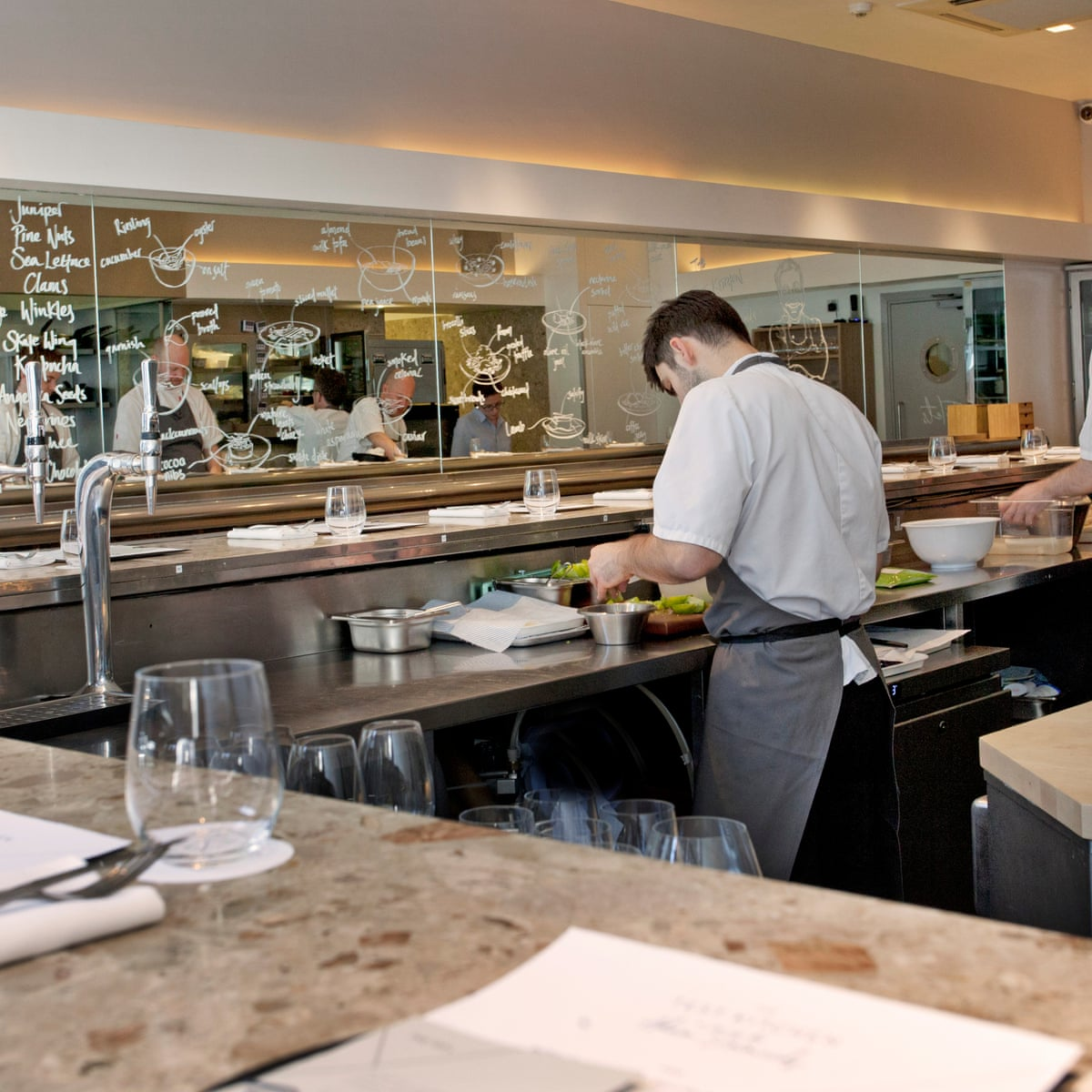 The Test Kitchen London Restaurant Review Food Guardian