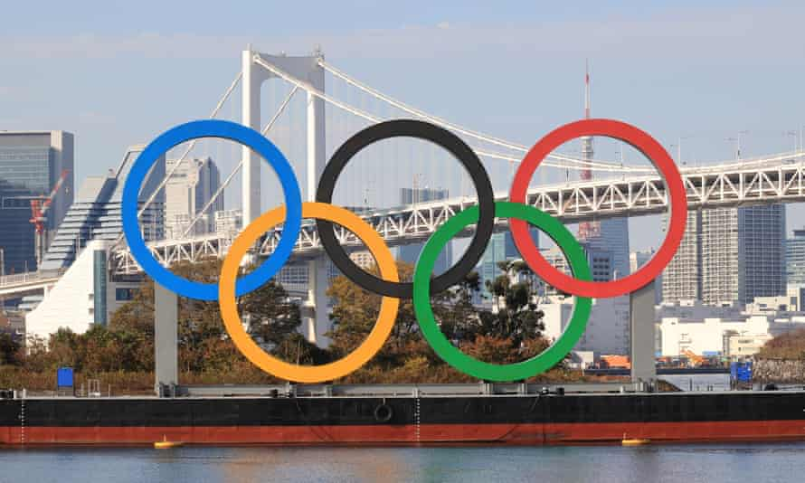 The Olympic rings displayed in Toyko. Sebastian Coe says he has 'a pretty high level of confidence' the Games will take place in 2021.