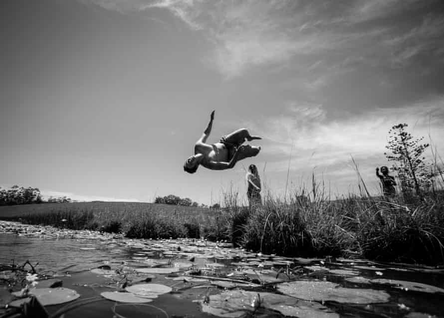 Jarulah takes flight.
